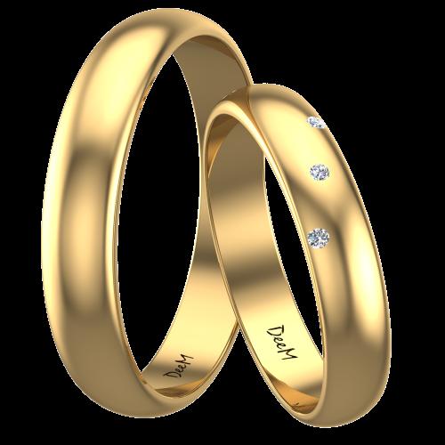 klasyczne obrączki ślubne